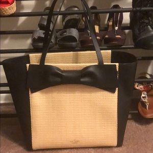 Kate Spade Tote with cute black bow